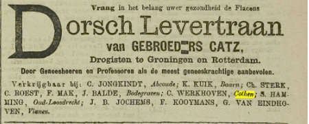 Levertraan Advertentie