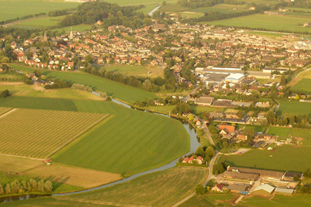Cothen luchtfoto